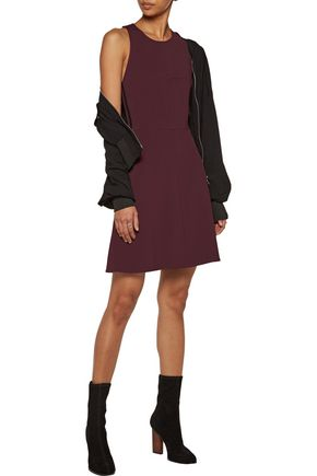 RAG & BONE Sabina silk satin-trimmed faille mini dress