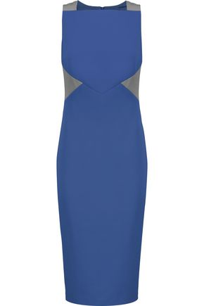 RAOUL Blaire color-block twill dress