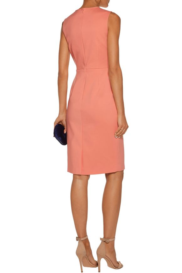 Jackie tulle-trimmed cutout cotton-blend dress | RAOUL | Sale up to 70% off  | THE OUTNET