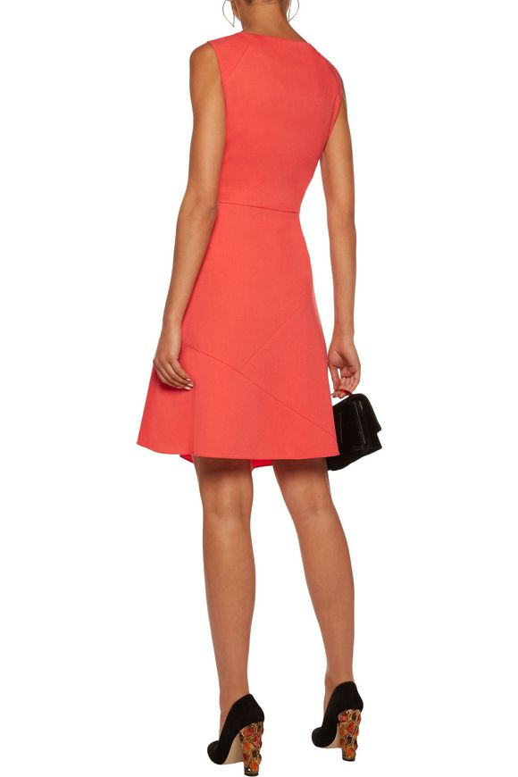 Dallas wrap-effect tiered cady dress | RAOUL | Sale up to 70% off | THE  OUTNET