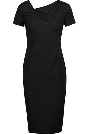 RAOUL Spiga layered cotton-blend dress