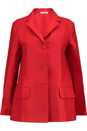 NINA RICCI Silk and wool-blend blazer