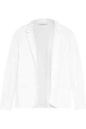 MAJESTIC FILATURES Slub stretch-linen jacket