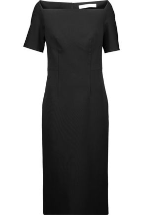 DION LEE Stretch-ponte midi dress