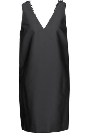3.1 PHILLIP LIM Embellished embroidered duchesse-satin mini dress