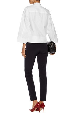 DKNY Stretch cotton-poplin shirt