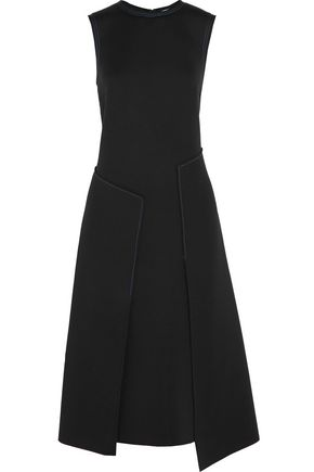 DKNY Embroidered scuba dress