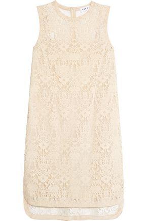 DKNY Velvet lace mini dress