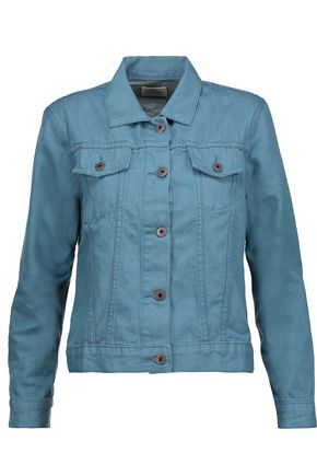 SIMON MILLER Meiss cropped denim jacket