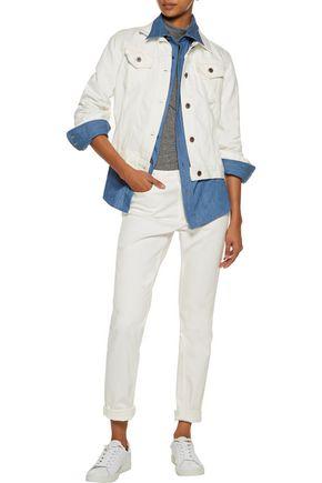 SIMON MILLER Meiss cropped denim jacket