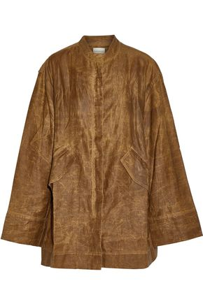 SIMON MILLER Medina coated cotton jacket