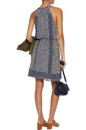 JOIE Makana printed silk dress