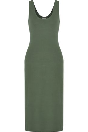 A.L.C. Kaius stretch-knit cotton-blend midi dress
