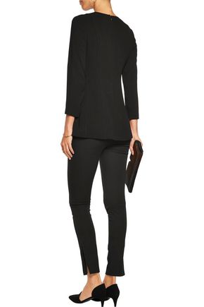 THEORY Lauret crepe top