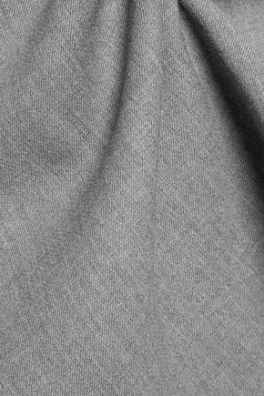 THEORY Kamillina Saxton stretch-wool twill mini dress