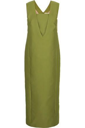MERCHANT ARCHIVE Duchesse-satin gown