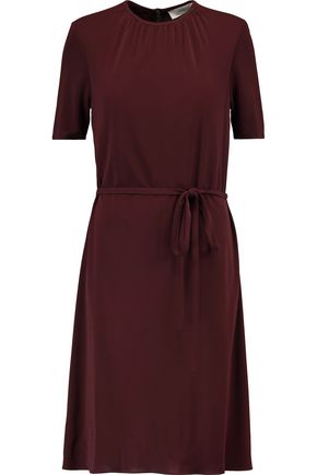 PRINGLE OF SCOTLAND Belted crepe dress