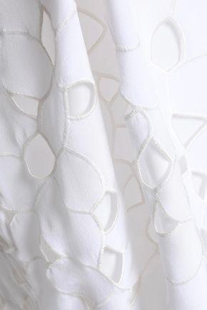 EQUIPMENT Dian embroidered silk midi dress