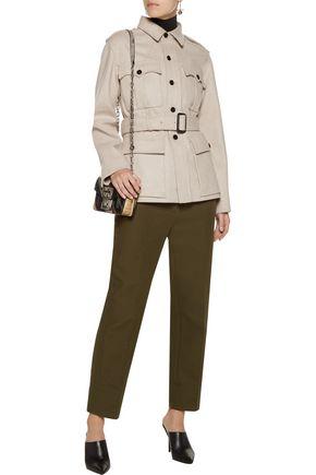 JOSEPH Belted wool-blend felt coat