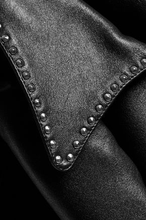 MARC BY MARC JACOBS Studded leather biker jacket