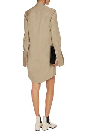 CHALAYAN Cotton-poplin dress
