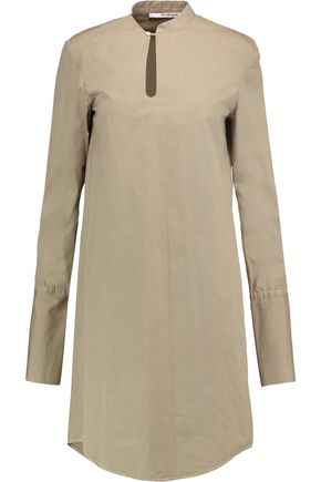 CHALAYAN Cotton-poplin dress