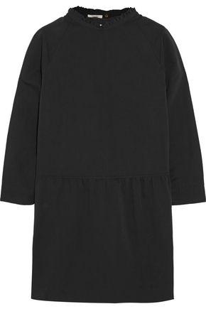 ATLANTIQUE ASCOLI Slub cotton and linen-blend mini dress