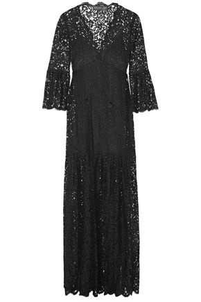 RACHEL ZOE Andoni corded lace maxi dress