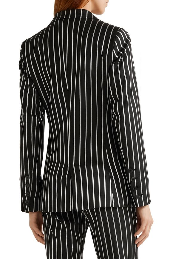 Eorchestre pinstriped stretch-twill blazer   PAUL & JOE   Sale up to 70% off    THE OUTNET