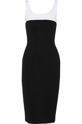 TANYA TAYLOR Popper stretch-cady dress