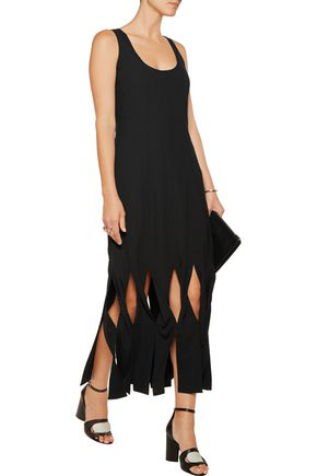 OPENING CEREMONY Glide twisted-front crepe de chine dress