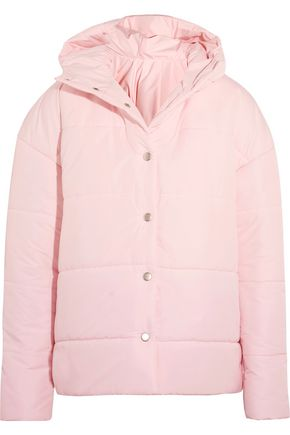 A.W.A.K.E. Bubblegum Princess oversized quilted shell jacket