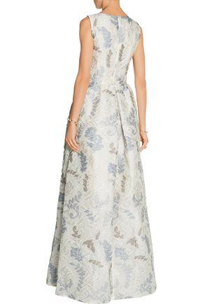 TORY BURCH Jacquard gown