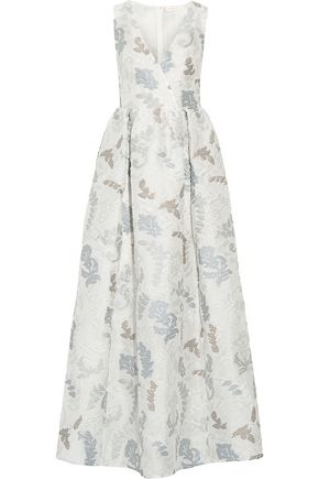 TORY BURCH Jacquard gown