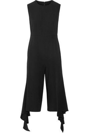 GOEN.J Ruffle-trimmed crepe jumpsuit