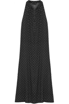 HATCH Medina printed chiffon midi dress