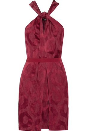 ISABEL MARANT Suzy jacquard mini dress