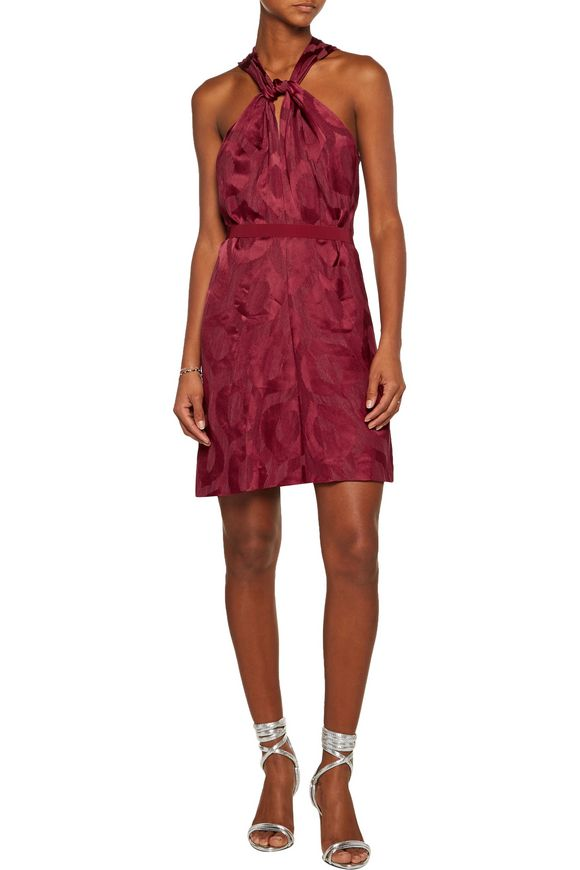 Suzy jacquard mini dress | ISABEL MARANT | Sale up to 70% off | THE OUTNET