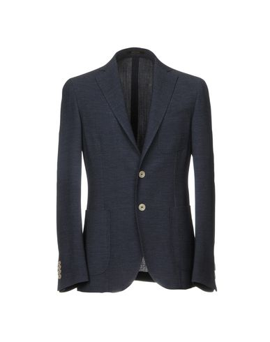 Фото - Мужской пиджак ROYAL ROW темно-синего цвета