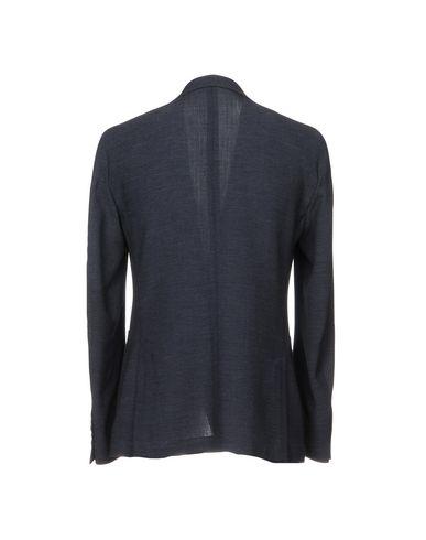 Фото 2 - Мужской пиджак ROYAL ROW темно-синего цвета