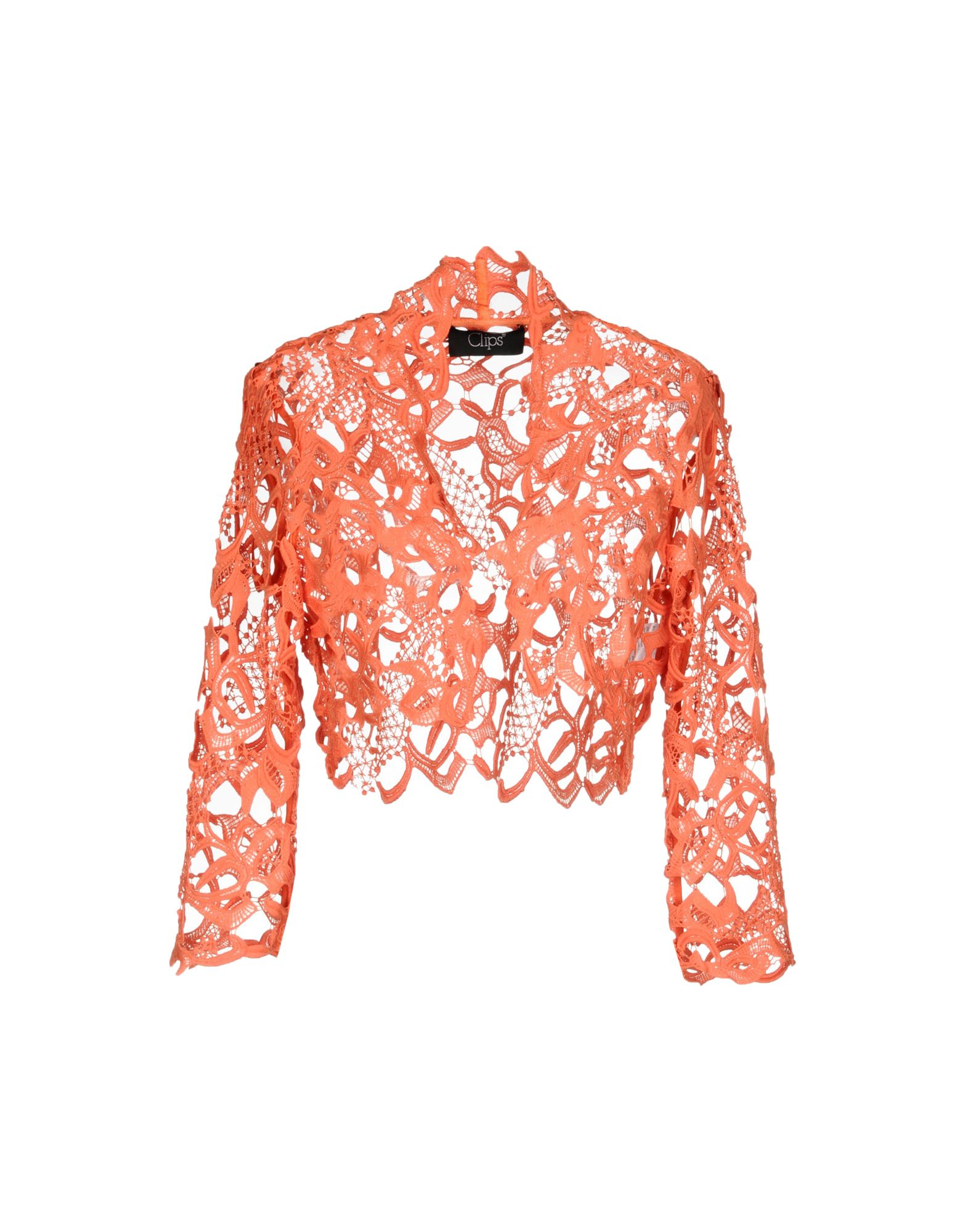 CLIPS Damen Bolero Farbe Orange Größe 5