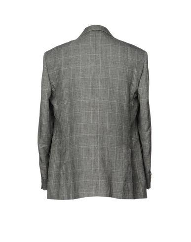 Фото 2 - Мужской пиджак  свинцово-серого цвета