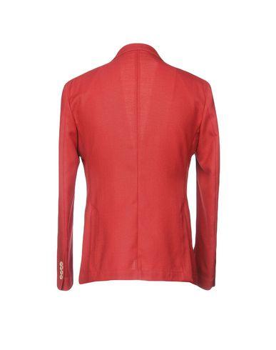 Фото 2 - Мужской пиджак ROYAL ROW красно-коричневого цвета