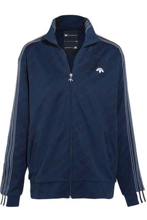 ADIDAS ORIGINALS Embroidered jacquard jacket