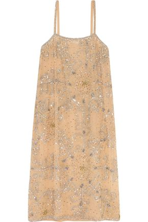 ASHISH Embellished crepe dress