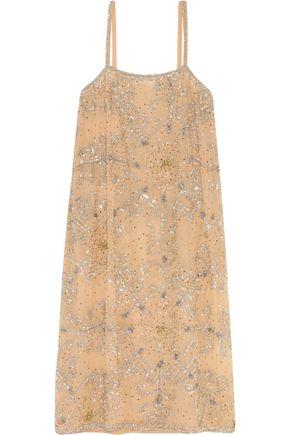 ASHISH Embellished crepe dress