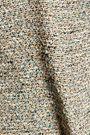 THEORY Betty frayed cotton-blend bouclé-tweed mini dress