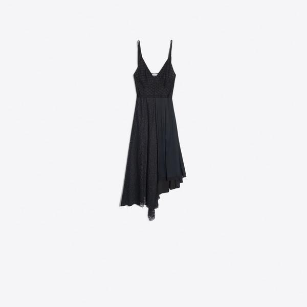 Wrapped Slip Dress