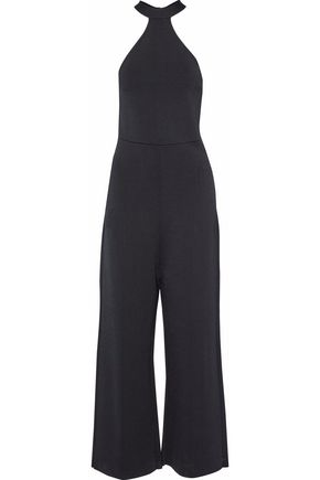 ROLAND MOURET Stretch-cady jumpsuit