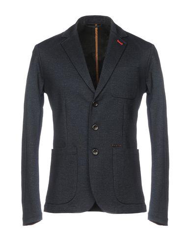 Фото - Мужской пиджак  темно-синего цвета